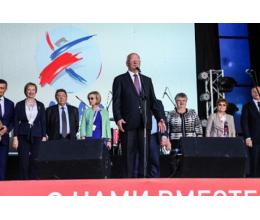 Приветствие Губернатора Оренбургской области Ю.А.Берга